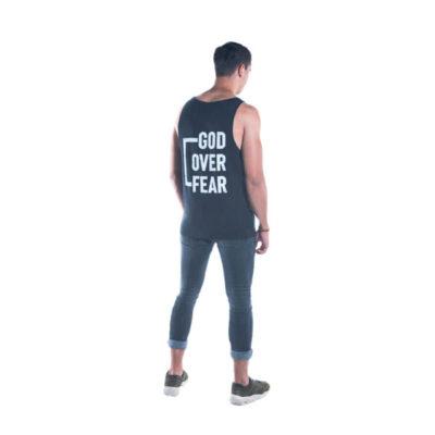 Débardeur God Over Fear - Arrière